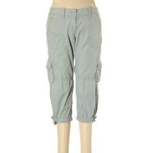Loft Capri Cargo Pants